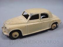 1. Brinquedos antigos - Dinky Toys - Rover 75 Saloon branco Ano 1956