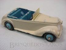 1. Brinquedos antigos - Dinky Toys - Armstrong Siddeley Coupé Ano 1946