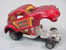 1. Brinquedos antigos - Matchbox - Volkswagen Dragon Wheels Superfast vermelho