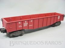 1. Brinquedos antigos - Lionel - Vagão 6462 NYC Gondola Ano 1950