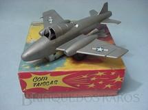 1. Brinquedos antigos - Estrela - Avião a Jato com 18,00 cm de comprimento Década de 1960