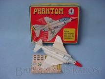 1. Brinquedos antigos - Estrela - Avião Phantom com 17,00 cm de comprimento Década de 1960