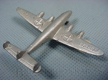 1. Brinquedos antigos - Estrela - Avião Super Constellation com 6,00 cm de comprimento Década de 1960