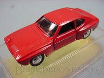1. Brinquedos antigos - Schuco-Rei - Ford Capri Rally RS Brasilianische Schuco Rei vermelho