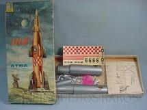 1. Brinquedos antigos - Atma - Foguete Atlas Década de 1960