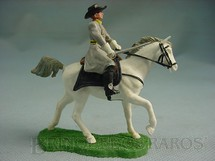 1. Brinquedos antigos - Britains - Comandante Confederado a cavalo com sabre Década de 1960
