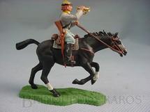 1. Brinquedos antigos - Britains - Soldado Confederado a cavalo com Clarim Década de 1960