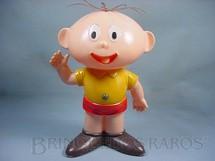 1. Brinquedos antigos - Trol - Cebolinha com 38,00 cm de altura Maurício de Sousa Década de 1970