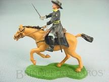 1. Brinquedos antigos - Britains - Comandante da União a Cavalo com Sabre Década de 1960