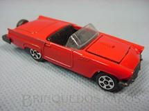 1. Brinquedos antigos - Corgi Toys-Kiko - Ford Thunderbird vermelho Brazilian Corgi Jr Kiko Década de 1980