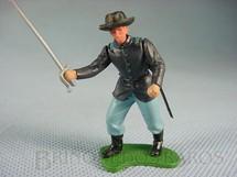1. Brinquedos antigos - Britains - Comandante da União a pé com Sabre Década de 1960