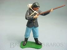 1. Brinquedos antigos - Britains - Soldado da União de pé atirando com fuzil Década de 1960