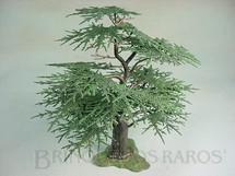 1. Brinquedos antigos - Britains - Árvore Cedro Europeu com 22,00 cm de altura Tree Série Britains Herald Década de 1960