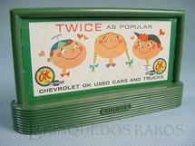 1. Brinquedos antigos - Lionel - Suporte 310 Bilboard Chevrolet Ano 1950 a 1968