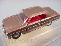 1. Brinquedos antigos - Schuco-Rei - Mercedes Benz 250 CE dourada Brasilianische Schuco Rei