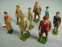 1. Brinquedos antigos - Britains - Figuras diversas Farms Série Década de 1930