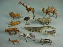 1. Brinquedos antigos - Britains - Animais Selvagens diversos Zoo Série Década de 1930