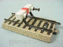 1. Brinquedos antigos - Marklin - Trilho para fim de linha Série M Década de 1960