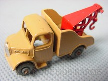 1. Brinquedos antigos - Matchbox - Bedford Wreck Truck Metal Regular Wheels