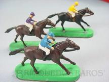 1. Brinquedos antigos - Stabo - Cavalos de corrida para Stabo Derby Década de 1960 Preço por unidade