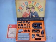 1. Brinquedos antigos - D.F. Vasconcellos - Conjunto de Partes Opticas Poliopticon Completo perfeito estado Década de 1960