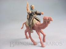 1. Brinquedos antigos - Casablanca e Gulliver - Figura de Lawrence da Árabia com revolver Montado no Camelo