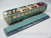 1. Brinquedos antigos - Lionel - Carro de Passageiros Tempel 422 Série Blue Comet Standard Gauge com detalhamento interno Ano 1933