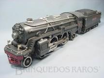 1. Brinquedos antigos - Lionel - Locomotiva a vapor 392E Série Blue Comet Standard Gauge Ano 1933