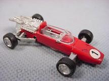 1. Brinquedos antigos - Schuco - Ferrari Formula 2 com 6,00 cm de comprimento Década de 1970