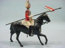 1. Brinquedos antigos - Britains - Soldado Lifeguard a cavalo com Lança Década de 1930