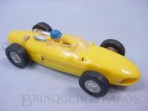 1. Brinquedos antigos - Estrela - Ferrari 156 Formula 1 Shark Nose amarela Completa original