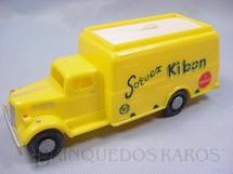 1. Brinquedos antigos - Atma - Caminhão Sorvex Kibon com 20,00 cm de comprimento Brinde do início da Década de 1960 perfeito estado