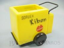 1. Brinquedos antigos - Hevea - Carrinho Sorvex Kibon brinde do início da década de 1960 Falta a tampa
