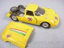 1. Brinquedos antigos - Mercury - Ferrari 330 P2 amarela Equipe Nacional Italiana Ano 1968