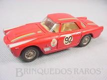 1. Brinquedos antigos - Mercury - Maserati 350 GT vermelha Número 92 Ano 1970
