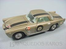 1. Brinquedos antigos - Mercury - Maserati 350 GT prata Número 8 Ano 1970