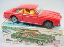 1. Brinquedos antigos - Mercury - Lancia Flávia Coupé Pininfarina vermelha Ano 1970