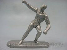 1. Brinquedos antigos - Casablanca e Gulliver - Surfista Prateado de plástico prata Década de 1980