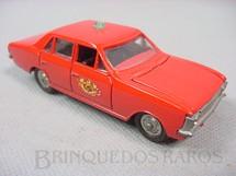 1. Brinquedos antigos - Solido-Brosol - Chevrolet Opala vermelho Versão Corpo de Bombeiros Fabricado pela Brosol Un Solido fait seulement au Brésil Solido brésilienne Década de 1970