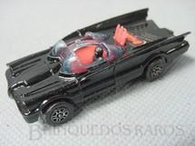 1. Brinquedos antigos - Corgi Toys-Corgi Jr. - Carro do Batman Batmobile Batmóvel Corgi Jr segunda versão só com o Batman