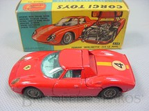 1. Brinquedos antigos - Corgi Toys - Ferrari Berlinetta 250 Le Mans. Década de 1960