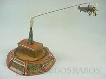 1. Brinquedos antigos - C.K.O. Kellermann - Hangar e Torre com avião Década de 1920