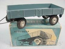 1. Brinquedos antigos - Marklin - Reboque agrícola Anhanger Década de 1950