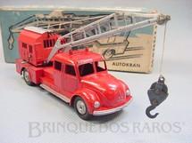 1. Brinquedos antigos - Marklin - Caminhão Magirus Deutz guindaste Autokran Década de 1960