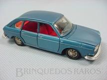1. Brinquedos antigos - Marklin - Volkswagen 411 azul metálico Década de 1970