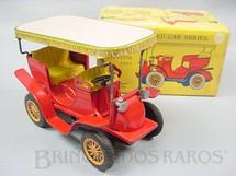 1. Brinquedos antigos - Bandai - Panhard Levassor 1901 Série Old Fashioned Car Series Década de 1960