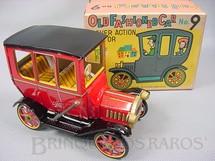 1. Brinquedos antigos - Modern Toys e Masudaya Toys - Old Fashioned Car Nº 9 Movimento por alavanca Ano 1967