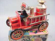 1. Brinquedos antigos - Modern Toys e Masudaya Toys - Caminhão Old Smoky Joe Nº 2 Década de 1960