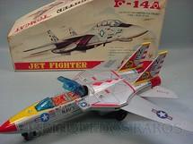 1. Brinquedos antigos - Son AI Toys - Jet Fighter F-14A Tomcat Década de 1970