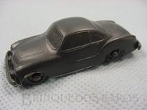 1. Brinquedos antigos - Sem identificação - Volkswagen Karmann Ghia com 6,00 cm de comprimento preto brinde Toddy Década de 1960